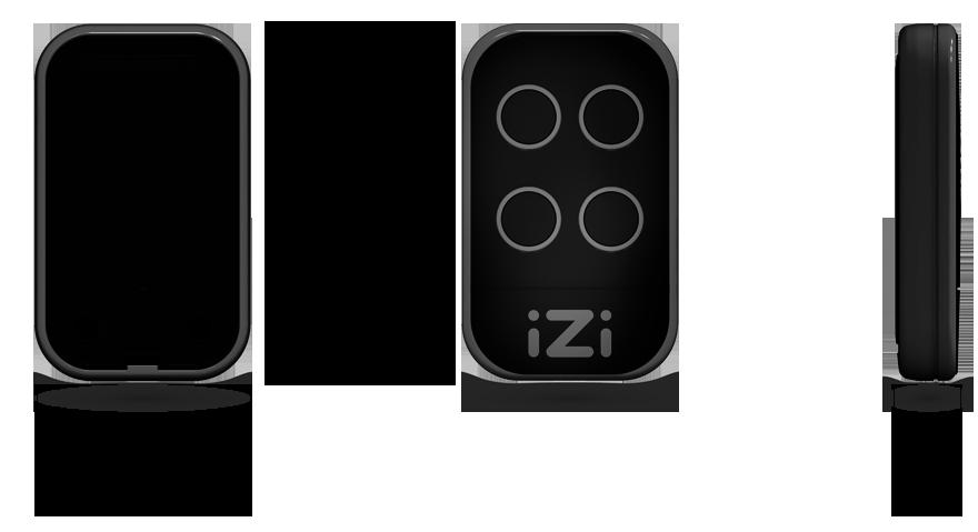 Dimensions iZi Black