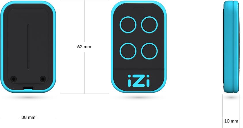 Dimensions iZi Blue